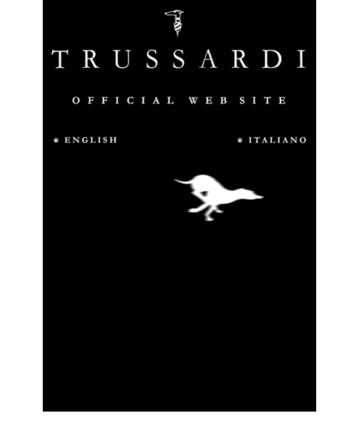 Wordpress website design and development for Trussardi